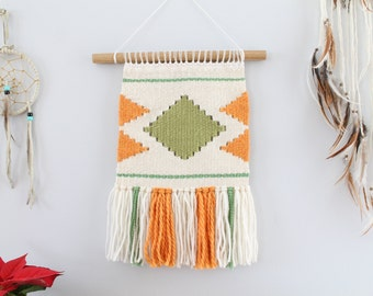 SALE - Woven wall hanging, tapestry, southwestern, boho, wall art, woven wall art, weaving, unique gift, nursery decor, gifts