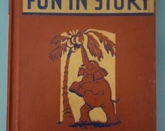 Fun in Story Primer Vintage 1940