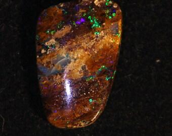 4.77 cts - Australia boulder Opal - freeform cabochon - opal boulder loose gemstone