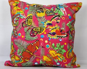 Ethnic pillows butterfly pillow cover 20x20 throw pillow covers 18x18 inch pillow cover decorative throw pillow covers 16x16 bohemian pillow