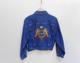 vintage MCM jacket made in italy luxury style fashion