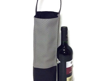 Luxury wine bag, out restaurant, AVV BYOW BYOB bring your own wine hostess gift