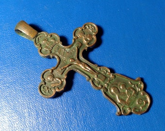 Large Bronze Cross 72 mm.