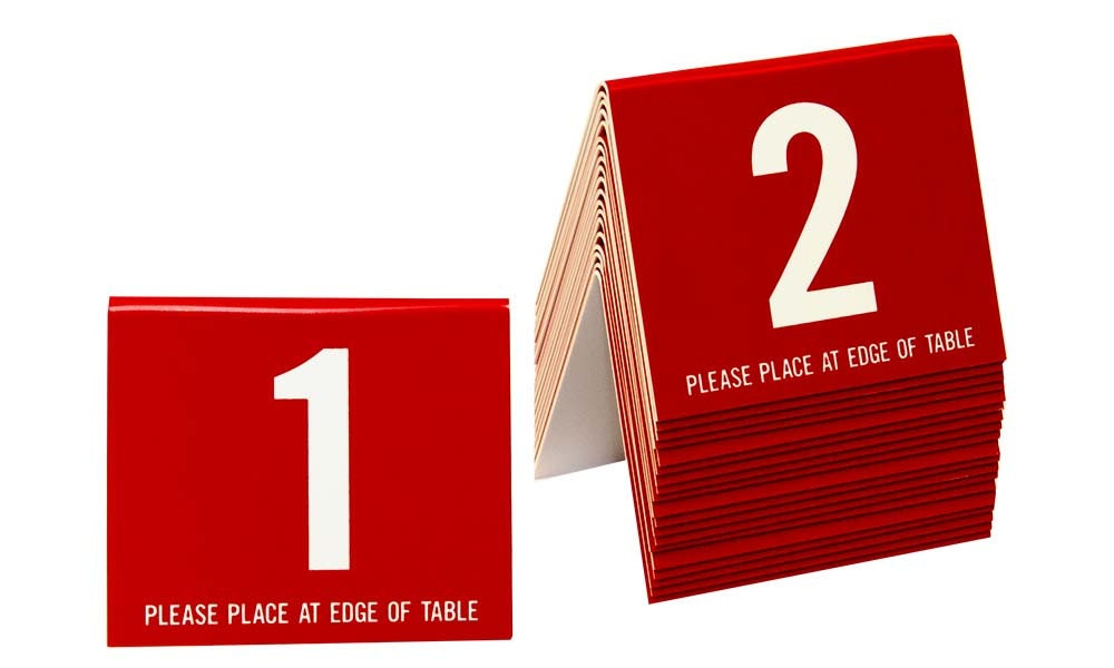 $27.75  sc 1 st  Etsy Studio & Plastic Table Numbers 1-20 Tent Style Numbers Various Color ...
