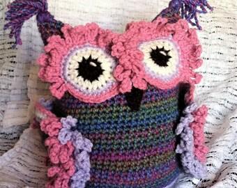 Crochet Owl Buddy