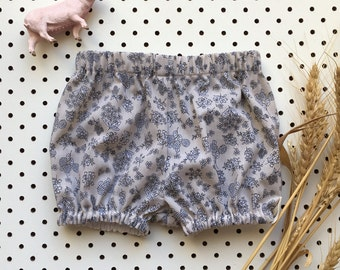 Baby Girl Bloomers Cotton ~ Country Garden