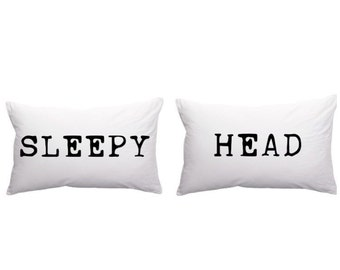 Sleepy Head Pillowcases