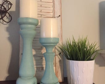 Handmade Farmhouse Candlesticks