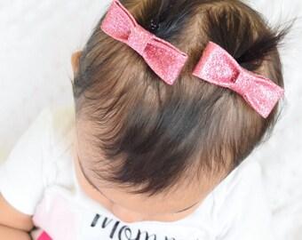 Small hair clip set