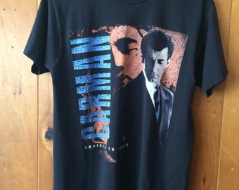 "1990s Carman ""Adicted to Jesus"" tour concert shirt vintage Large Screen Stars Best"