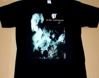 The Cure Disintegration, T-shirt 100% Cotton