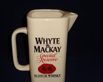 Whyte & Mackay whiskey jug/pitcher