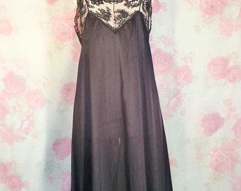 Lorraine Black long gown