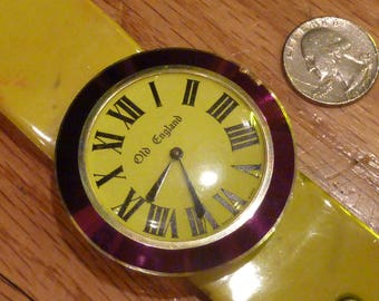 Original Retro 60's Old England Watch and Band