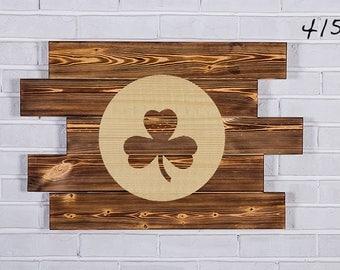Boston Celtics Wood Sign  Boston Celtics Wall art  Boston Celtics Gift  Boston Celtics Birthday  Boston Celtics Party wooden