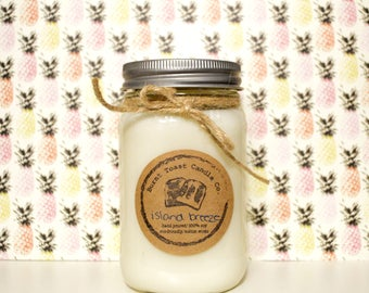 16oz Island Breeze Soy Candle