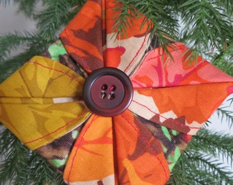 Colorful Fabric ornaments