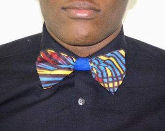 African bowtie, Ankara bowtie, Bowtie, African print bowtie, Dashiki bowtie, African men clothing, African fabric bowtie,