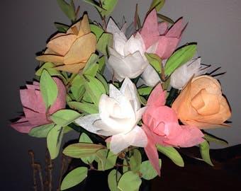 Starburst Floral Arrangement / Coffee Filter Flower Arrangement