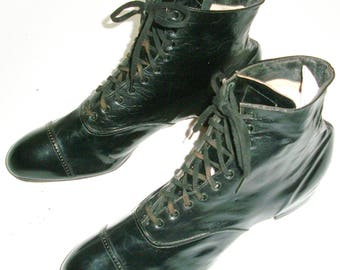 Mint Old Store Stock Edwardian Men's Boots