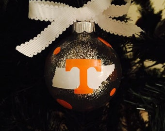 Tennessee Sparkly Christmas Ornament!