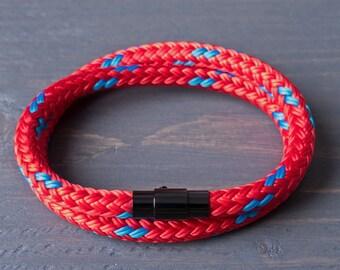 Rope Bracelet | Red Bracelet | Wrap Bracelet