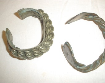 antique anicent Egypt set of 2 bangel Bracelet