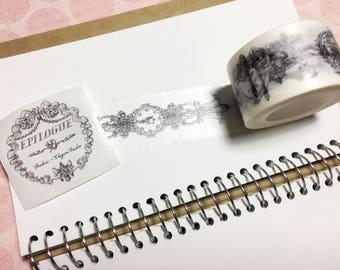出品时雨 Epilogue Masking Tape, Washi Tape,