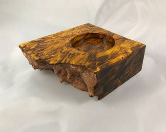 50mm Box Elder Burl Spin Station