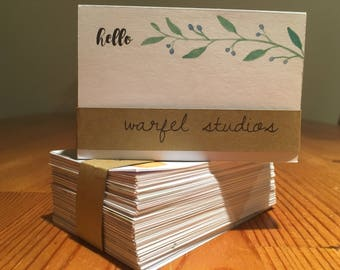 Mini Floral Notecards