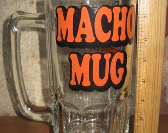 Vintage Ziggy 1979 Macho Mug / Tom Wilson Art