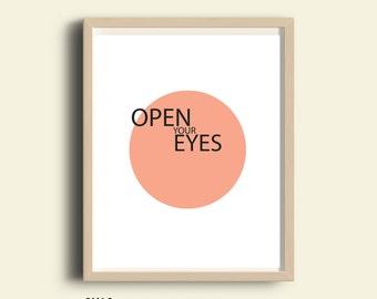 Words of wisdom, PRINTABLE quotes, Inspirational print, inspirational poster, motivational print, wall art, minimalist, Scandinavian, pastel