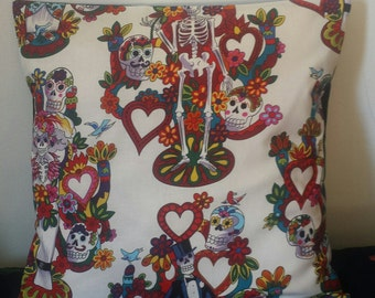 Going to the Chapel Skeleton Cushion Cover