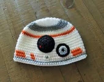 BB8 Crochet Beanie