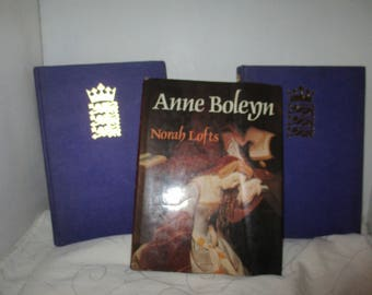 The Life and Times of The Tudors Henry the 8th / Anne Boleyn / Elizabeth the First  - Book Club Associates Set of Three Books