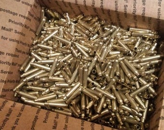 1000+ pieces of once fired 223/5.56 range brass. Unprocessed