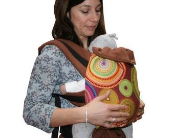 Baby-carrier La roue et l'oiseau 100% biologic cotton made in Lyon