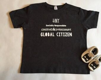 Tiny Global Citizen Tee