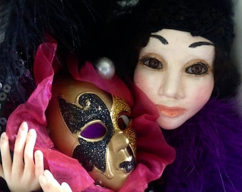 Collectible doll Mask