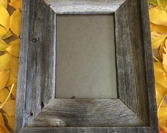 5 x 7 inch Barn Wood Picture Frame