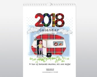 Weather, Wit and Waffle Calendar 2018 WWWCAL2018