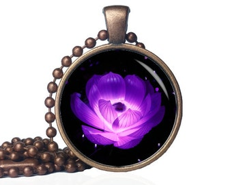 Lotus Flower - Lotus Yoga Necklace - Yoga Lotus Necklace - Zen Lotus Jewelry - Lotus Pendant Silver - Lotus Necklace - Lotus Jewelry - Lotus