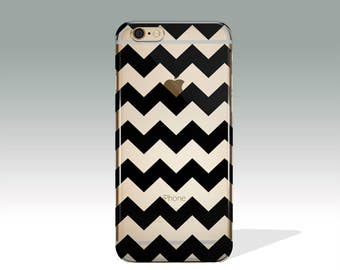 Chevron iPhone 7 Case Clear iPhone 7 Plus Case iPhone 6 Case iPhone 6s Case iPhone SE Case iPhone 5 Case Soft Silicone iPhone Case // 112