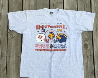 Michigan*N.Carolina 1994 Football Tee Shirt