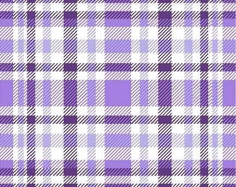 Purple Plaid Pattern Vinyl, HTV and Outdoor Vinyl, Purple Plaid HTV