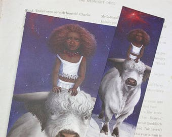 Zodiac Sign Taurus Bookmark&Postcard