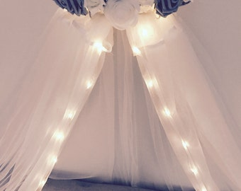 Bed canopy with lights – Etsy