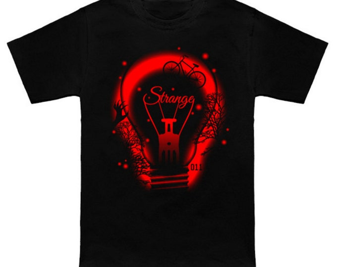 STRANGE ATMOSPHERE T-Shirt Stranger Things Eggos Eleven Ellie Barb Lucas Mike Dustin Will Joyce  Pop Culture Funny Geek/Nerd Shirt