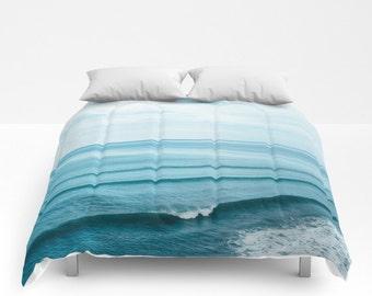 Ocean Bedding, Boho Bedding, Boho Comforter, Nautical Bedding, Ocean Comforter, Beach Comforter, Bed Comforter, Bed Cover