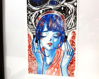 ORIGINAL ART ~ Inner Universe
